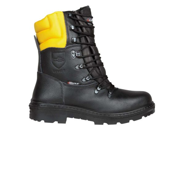 Cut resistant boots for chainsaw Cofra Woodsman Bis A E P FO WRU SRC