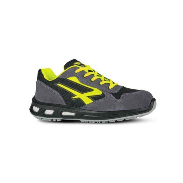U Power Yellow S1 P SRC Zapatos de seguridad bajos EN ISO 20345:2011
