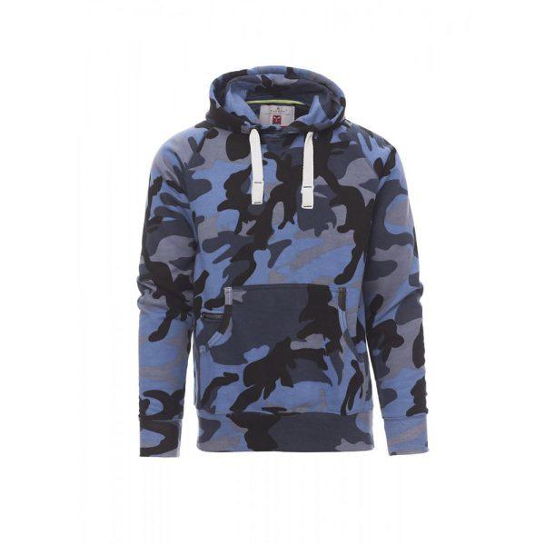 Payper Wear Atlanta+ sweat à capuche bleu camouflage