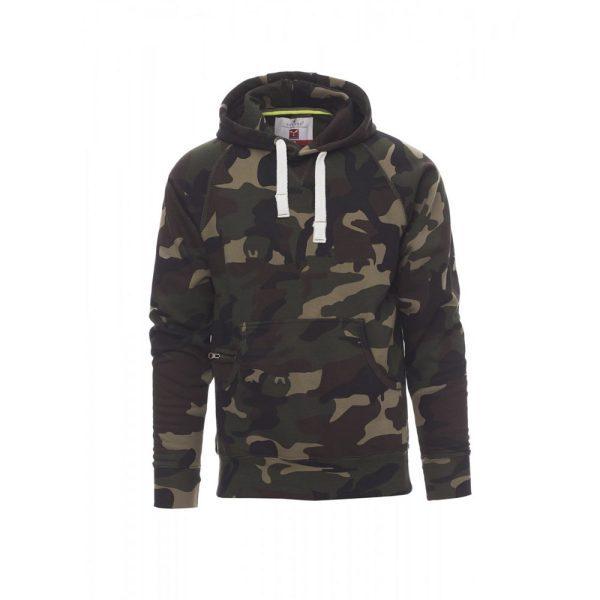 Payper Wear Atlanta+ hooded sweatshirt army green