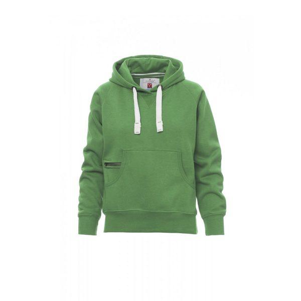 Payper Wear Atlanta+ Lady sweatshirt avec capuche vert gelée
