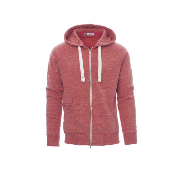 Payper Wear Felpa con cappuccio Urban Blu Rosso Melange