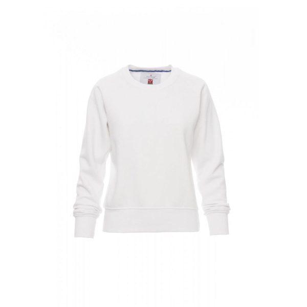 Payper Wear Mistral Lady sweatshirt col roulé blanc