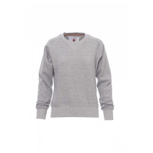 Payper Wear Mistrax Lady Sweatshirt mit Rundhalsausschnitt melange