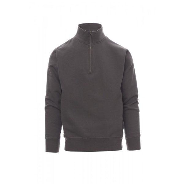 Payper Wear Canada sudadera con media cremallera gris humo