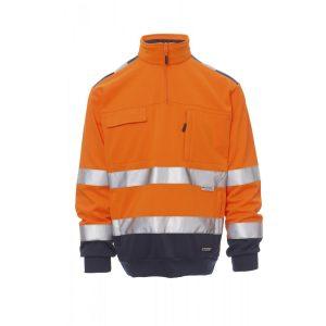 Payper Wear Felpa Vision alta visibilità Arancione/Blu