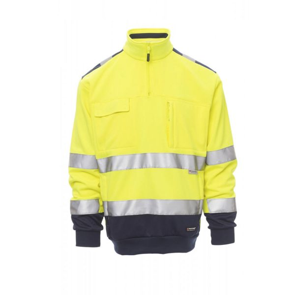 Payper Wear Vision high visibility sweatshirt yellow / blue