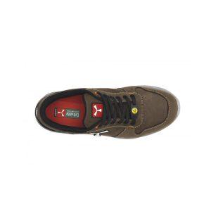 Payper Get Force Low Chocolate Brown Safety Footwear