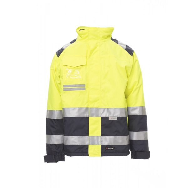 Payper Wear Hispeed high visibility jacket yellow blue