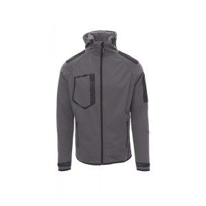 Payper Wear Extreme grey soft-shell jacket