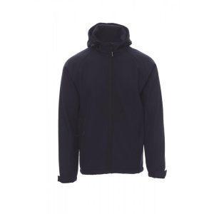Payper Wear Gale navy blue soft-shell jacket