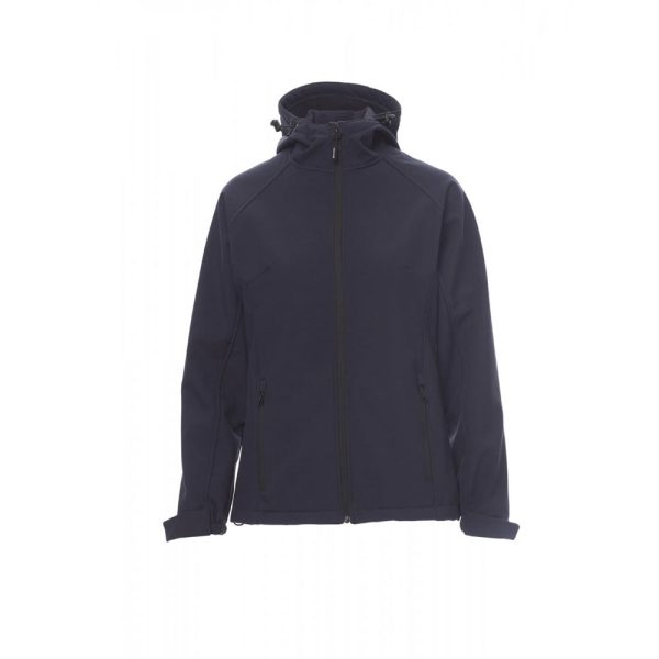 Payper Wear Gale Lady, veste soft-shell bleu marine