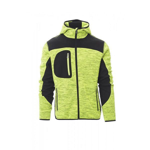 Payper Wear Trip chaqueta soft-shell fluorescente de color amarillo