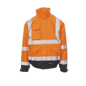 Payper Wear Paddock Veste haute visibilité orange bleu
