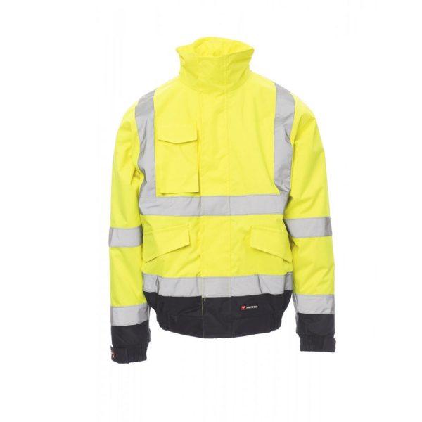 Payper Wear Paddock chaqueta de alta visibilidad amarillo azul