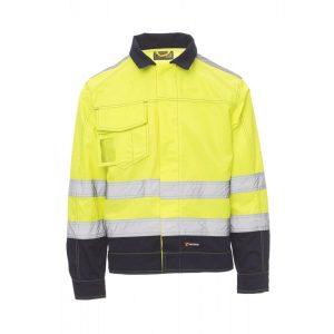 Payper Wear Giubbino Safe Hi Vi alta visibilità Giallo/Blu