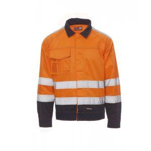 Payper Wear Veste Safe Hi Vi Winter Haute visibilité Orange Bleu