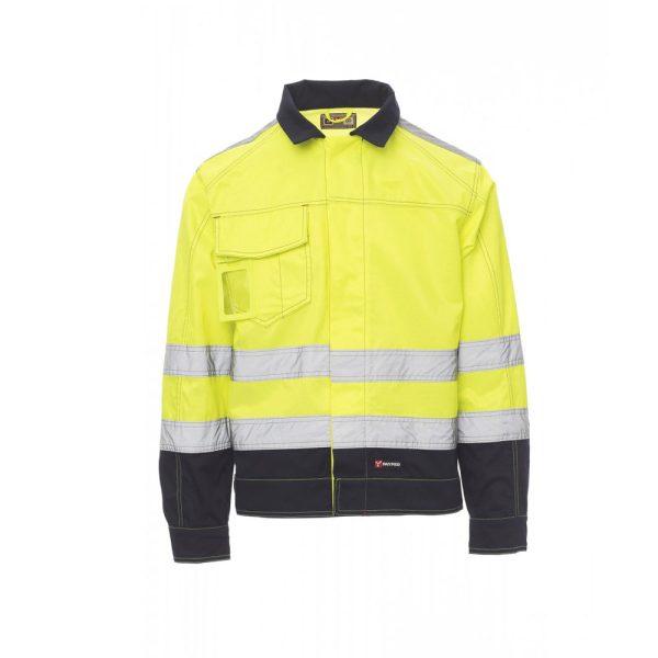 Chaqueta Payper Wear Safe Hi Vi Winter de alta visibilidad Amarillo Azul