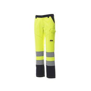 Paypex Weax Chartex Lady pantalon bleu jaune haute visibilité