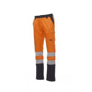 Payper Wear Pantalons Charte Polar Haute Visibilité Orange Bleu