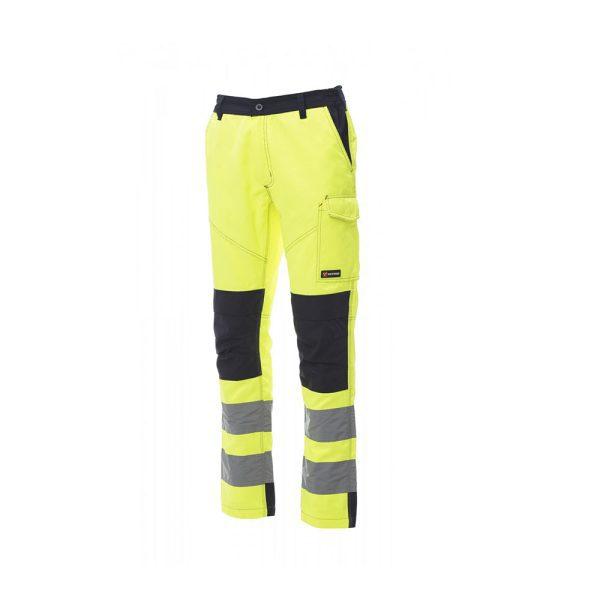 Payper Wear Pants Charter Tech High Visibility Yellow Blue