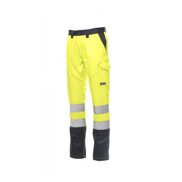 Payper Wear Pants Charter Winter High Visibility Yellow Blue