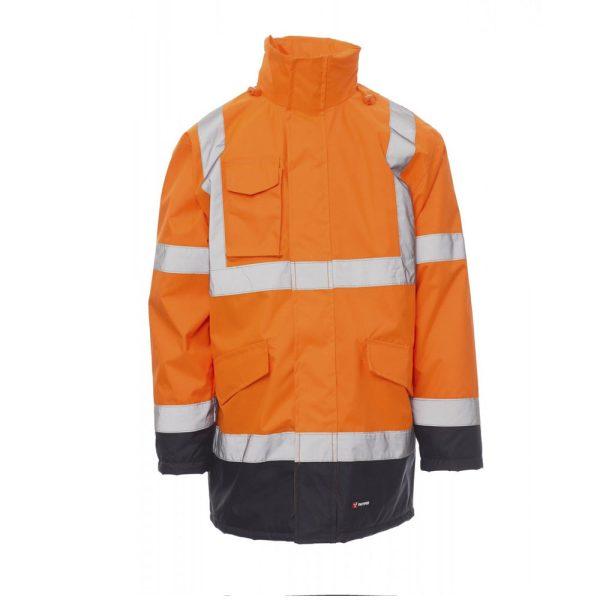 Payper Parka Yard de alta visibilidad naranja Azul