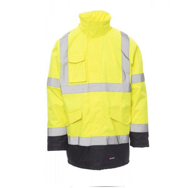 Payper Parka Yard de alta visibilidad amarillo Azul
