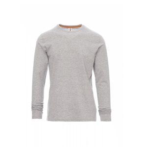 Payper Wear Pineta long-sleeved cotton melange t-shirt