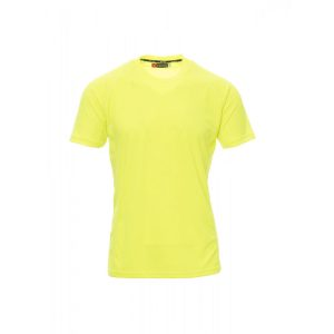 Payper Wear Runner T-shirt Manica Corta Poliestere Giallo