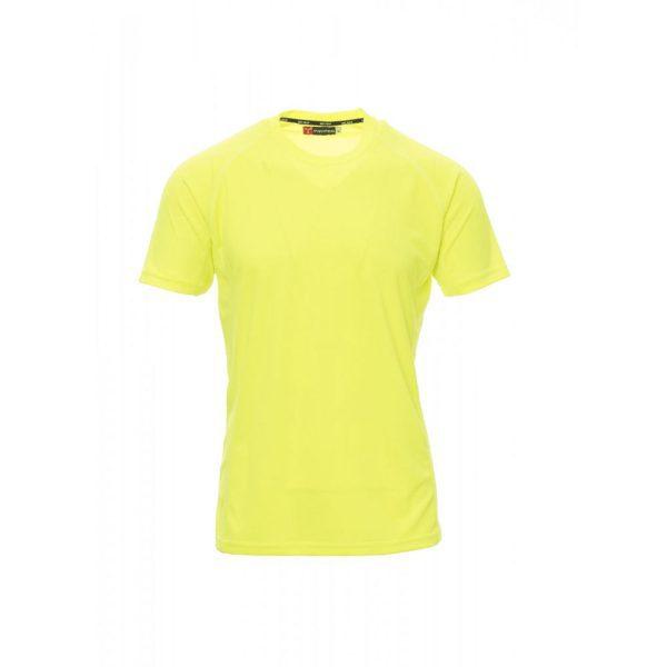 Payper Wear Runner t-shirt à manches courtes en polyester jaune