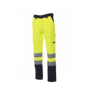 Payper Wear worker pantalone charter giallo blu