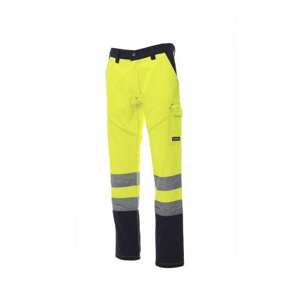 Payper Wear Charter pantalones de alta visibilidad amaraillo/azul