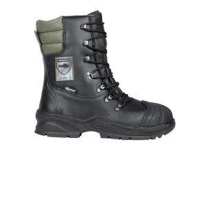 Schnittfeste Stiefel für Kettensägen Cofra Power A E P FO WRU HRO SRC