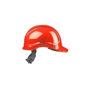 Irudek Stilo 300 Casco di Sicurezza Ventilato Rosso 302601300009