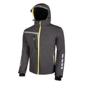 U Power Quick PE114AG Asfalt Grey Soft Shell stretch jacket