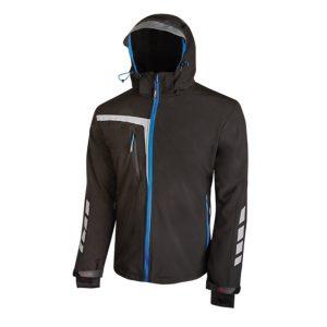 U Power Quick PE114BC Black Carbon Soft Shell stretch jacket