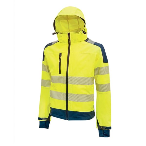 U Power Miky HV Yellow Fluo HL169YF  high visibility jacket