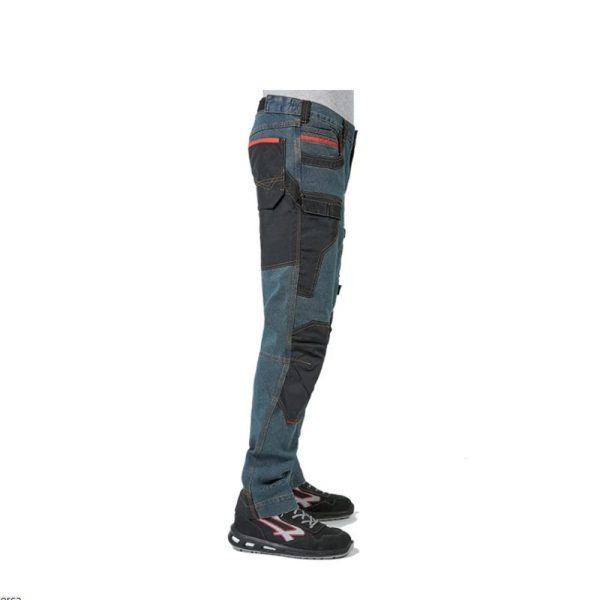 U Power Platinum Button Rust Jeans EX069RJ Pantalone Antinfortunistico