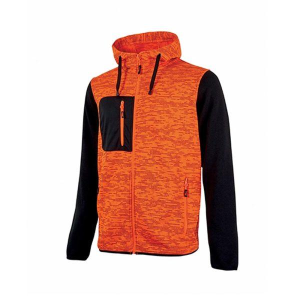 U Power Rainbow Orange Fluo EY174OF Unfallverhütungs-Sweatshirt