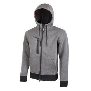 U Power Tasty Grey Meteorite PE119GM Workwear Full-zip fleece