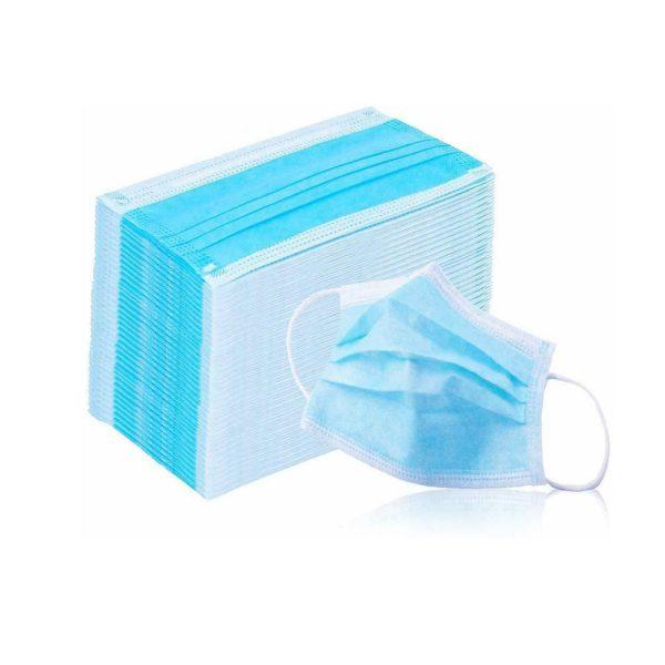 Work Secure Mascherine Chirurgiche monouso confezione da 50 pezzi
