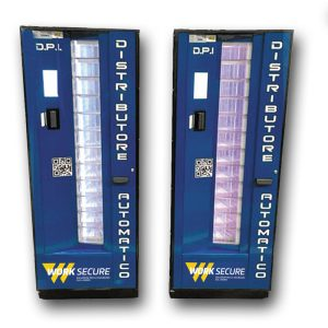Dispensador automático de equipo de protección indivisual E.P.I.