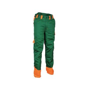 Cofra Chain Stop pantalon de protection pour tronçonneuse épreuve de coupe de bûcheron Classe 1 EN 381-5:1995 EN ISO 13688:2013
