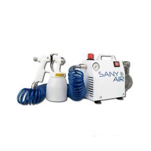 Sany + Air sistema di disinfezione ambientale con nebulizzatore e compressore portatile