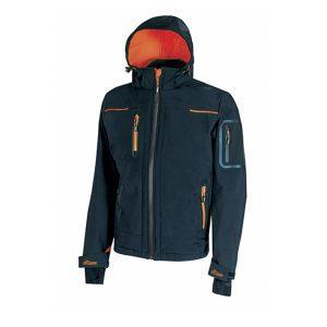 U Power Space Deep Blue FU187DB Jacket in Softshell