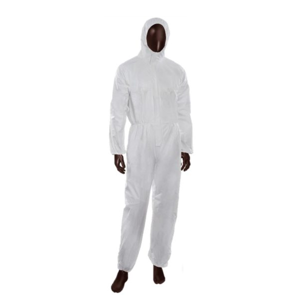 B-Tex Microporous Microporous disposable anti-static hood suit for chemical and infectious agents