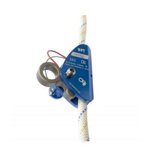 Irudek SEKURALT kit SK2 estraibile 10 metri dispositivo anticaduta scorrevole su fune