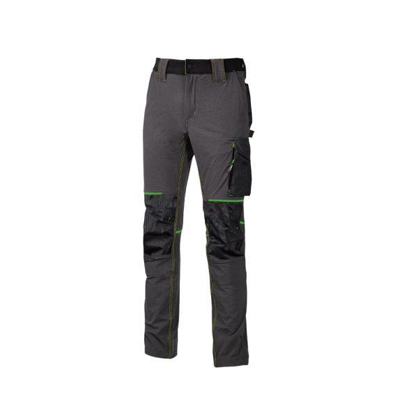U Power Atom Pantalone da Lavoro Asphalt Grey Green PE145RL