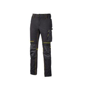 U Power Atom Pantalone da Lavoro Invernale Black Carbon PE145BC